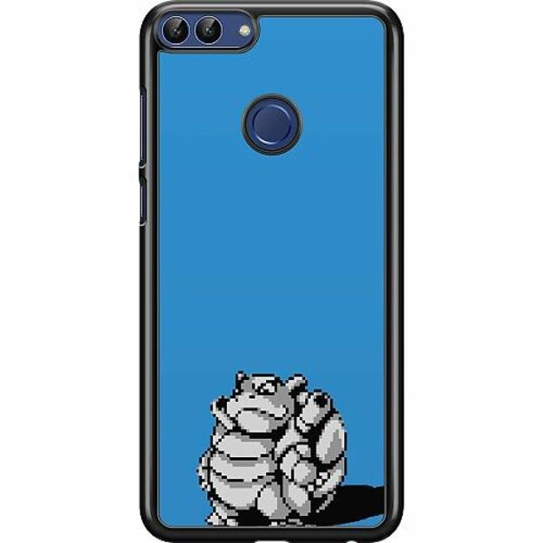 Huawei P Smart (2018) Hard Case (Svart) Pixel art Pokémon