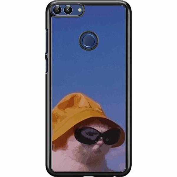 Huawei P Smart (2018) Hard Case (Svart) Say What, Cat