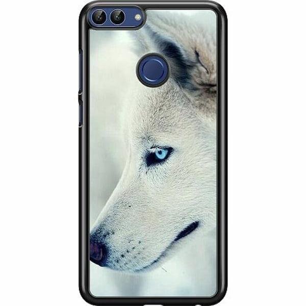 Huawei P Smart (2018) Hard Case (Svart) Wolf / Varg