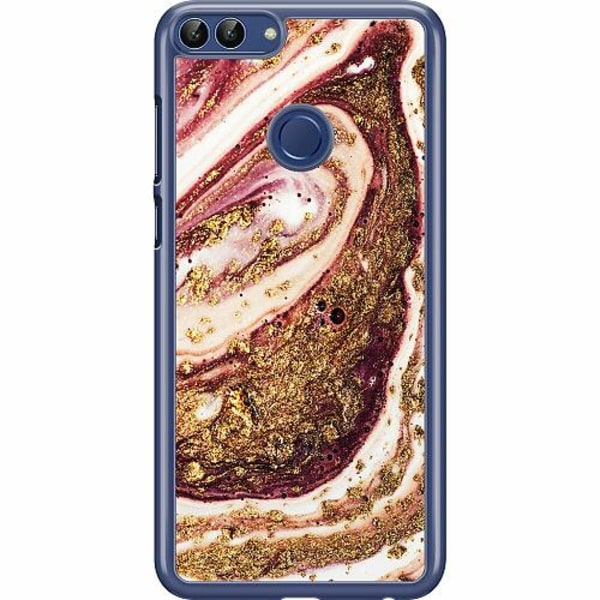 Huawei P Smart (2018) Hard Case (Transparent) Golden Honey