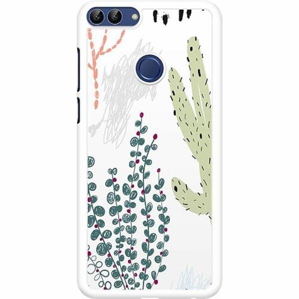 Huawei P Smart (2018) Hard Case (Vit) Cactus Or Cacti