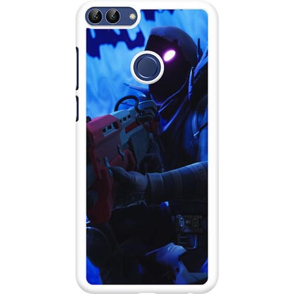 Huawei P Smart (2018) Hard Case (Vit) Fortnite The Raven