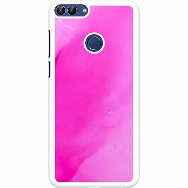 Huawei P Smart (2018) Hard Case (Vit) Pinksknip