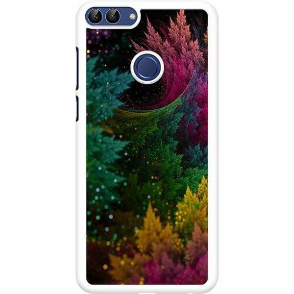 Huawei P Smart (2018) Hard Case (Vit) Pixel Forest
