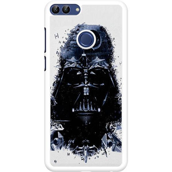 Huawei P Smart (2018) Hard Case (Vit) Darth Vader