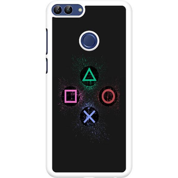 Huawei P Smart (2018) Hard Case (Vit) Gaming