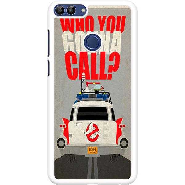 Huawei P Smart (2018) Hard Case (Vit) Ghostbusters