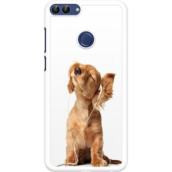 Huawei P Smart (2018) Hard Case (Vit) Hund