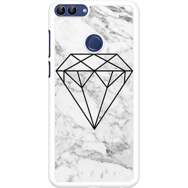 Huawei P Smart (2018) Hard Case (Vit) Diamant