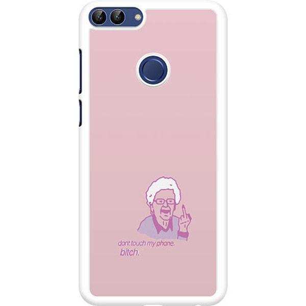Huawei P Smart (2018) Hard Case (Vit) My phone bitch