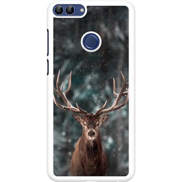 Huawei P Smart (2018) Hard Case (Vit) Oh Deer