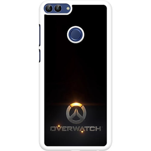 Huawei P Smart (2018) Hard Case (Vit) Overwatch Logo