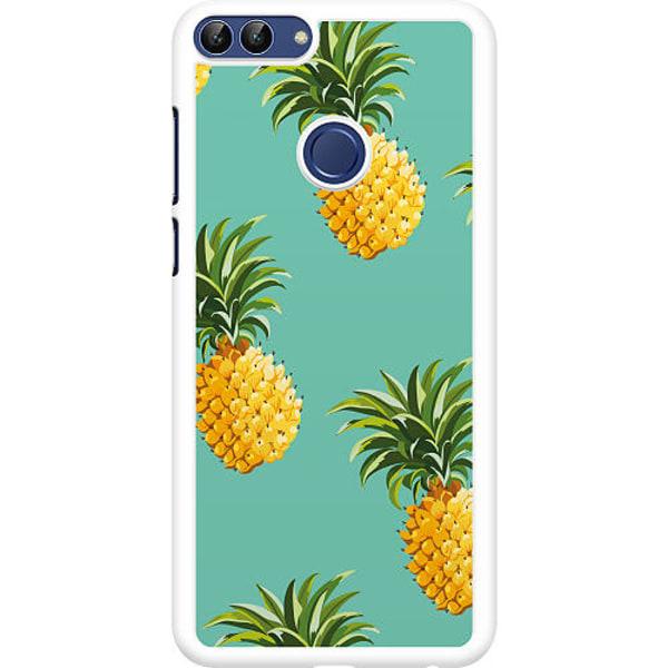 Huawei P Smart (2018) Hard Case (Vit) Pineapples Teal