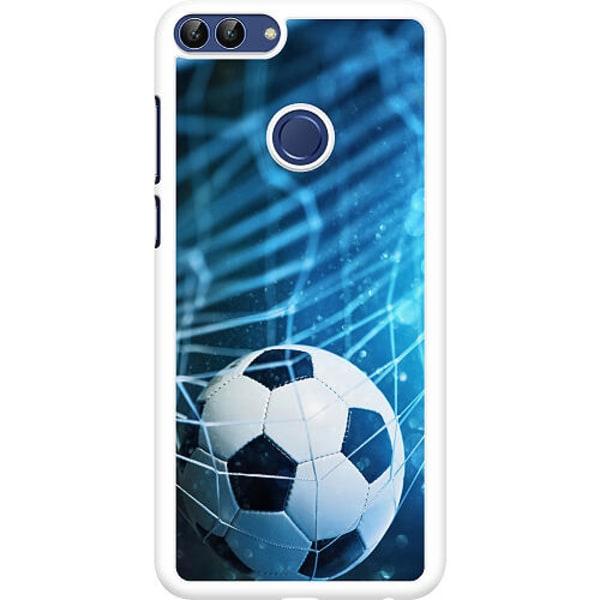 Huawei P Smart (2018) Hard Case (Vit) Fotboll