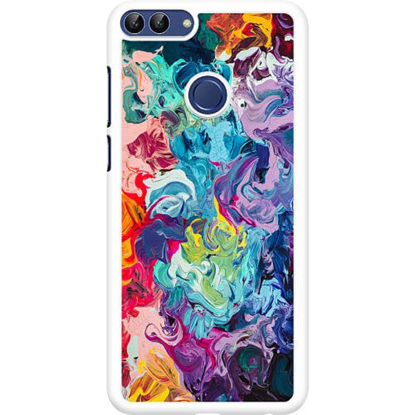 Huawei P Smart (2018) Hard Case (Vit) Wild Colours