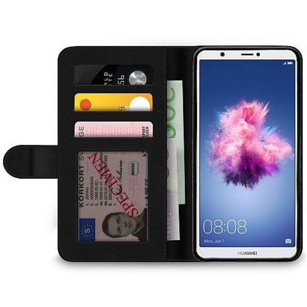 Huawei P Smart (2018) Wallet Case Baby Yoda