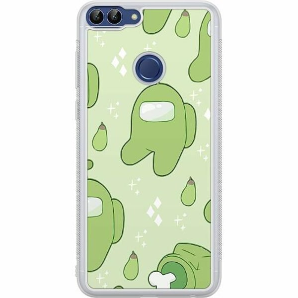 Huawei P Smart (2018) Soft Case (Frostad) Among Us