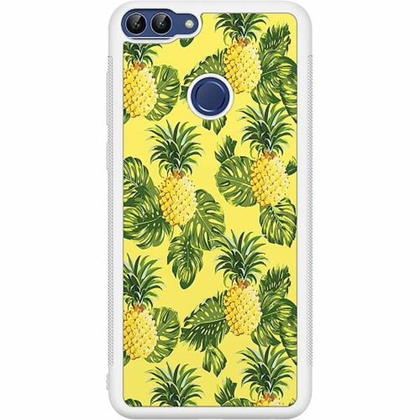 Huawei P Smart (2018) Soft Case (Vit) Ananas