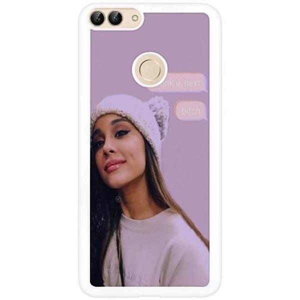 Huawei P Smart (2018) Vitt Mobilskal Ariana Grande