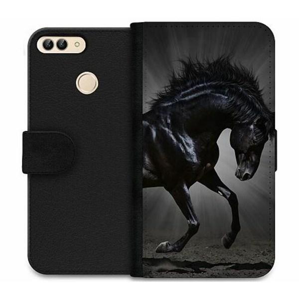 Huawei P Smart (2018) Wallet Case Häst / Horse