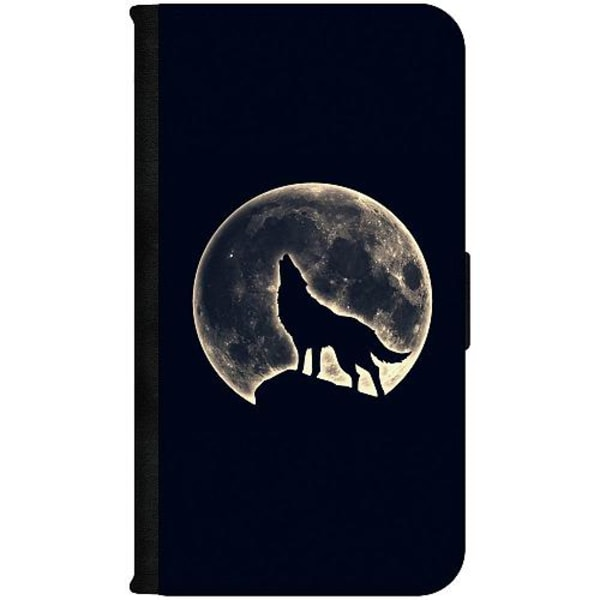Apple iPhone 12 mini Plånboksfodral Howling Moon Wolf
