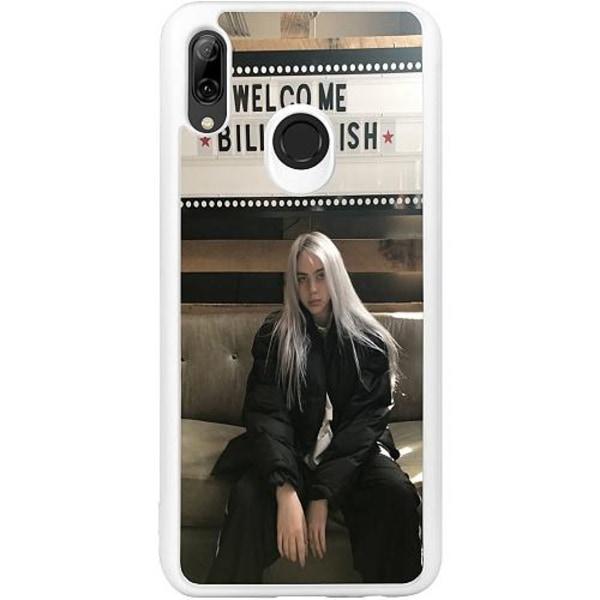 Huawei P Smart (2019) Vitt Mobilskal Billie Eilish
