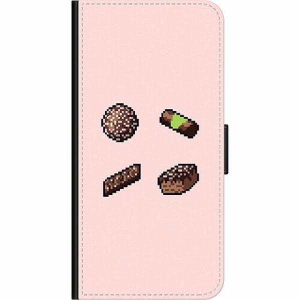 Apple iPhone 8 Plus Wallet Case Dammsugare pixel art