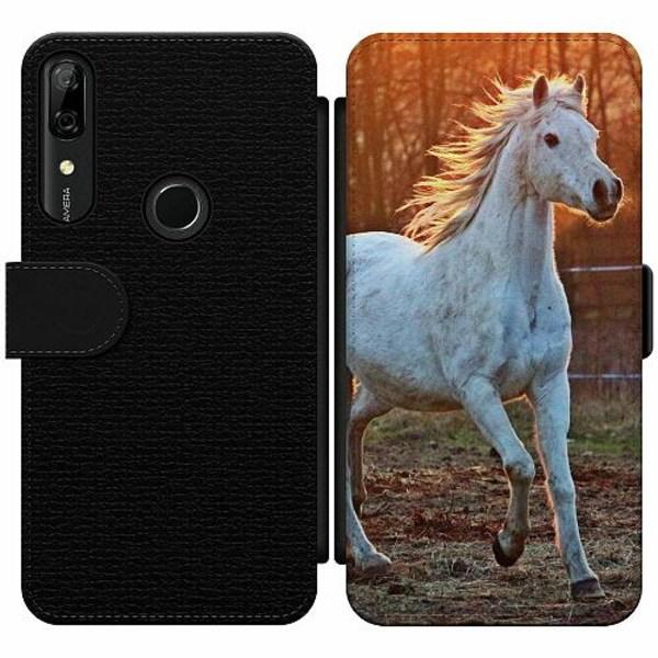 Huawei P Smart Z Wallet Slim Case Häst / Horse