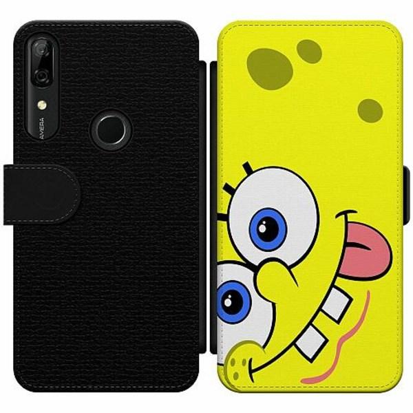 Huawei P Smart Z Wallet Slim Case SpongeBob Fyrkant