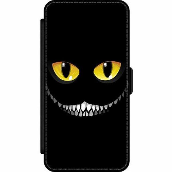 Apple iPhone 12 Pro Wallet Slim Case Eyes In The Dark Black