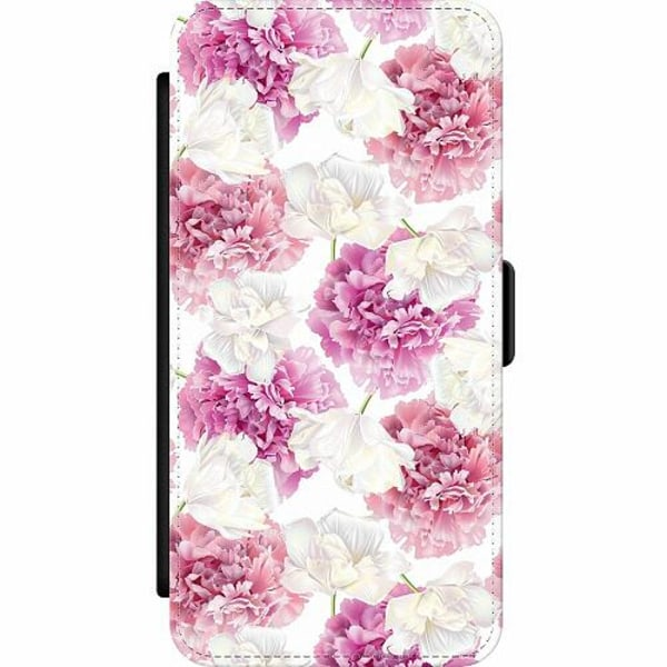 Apple iPhone 12 Pro Wallet Slim Case Fluffy Flowers