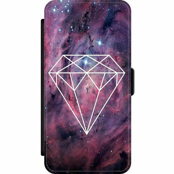 Apple iPhone 12 Pro Wallet Slim Case Galaxy Diamant