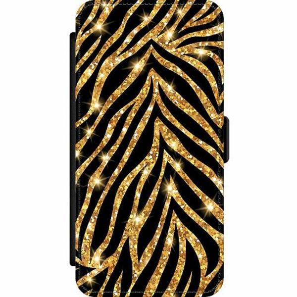 Apple iPhone 12 Pro Wallet Slim Case Gold & Glitter