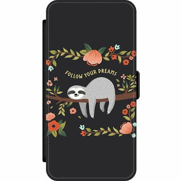 Apple iPhone 12 Pro Wallet Slim Case Sloth of wisdom