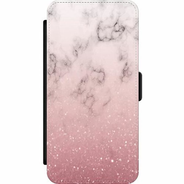 Apple iPhone 12 Pro Wallet Slim Case Soft Pink Marble