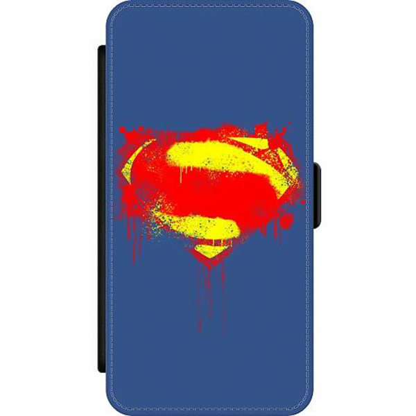 Apple iPhone 12 Pro Wallet Slim Case Superman Splat