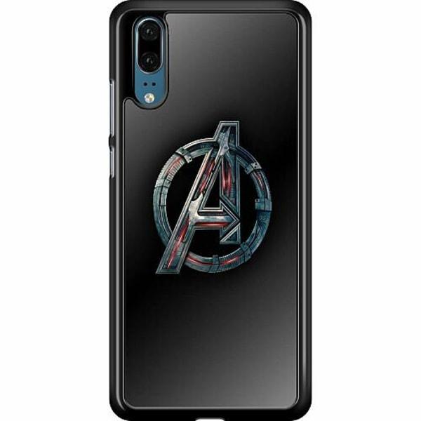Huawei P20 Hard Case (Black) Avengers
