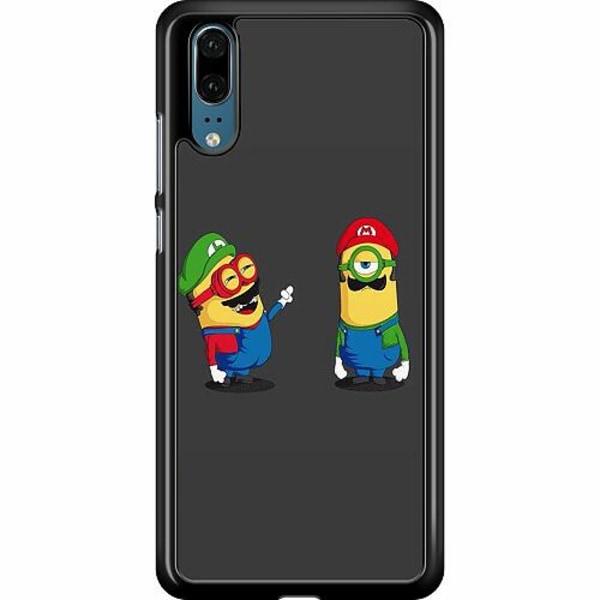 Huawei P20 Hard Case (Black) HAHAHA
