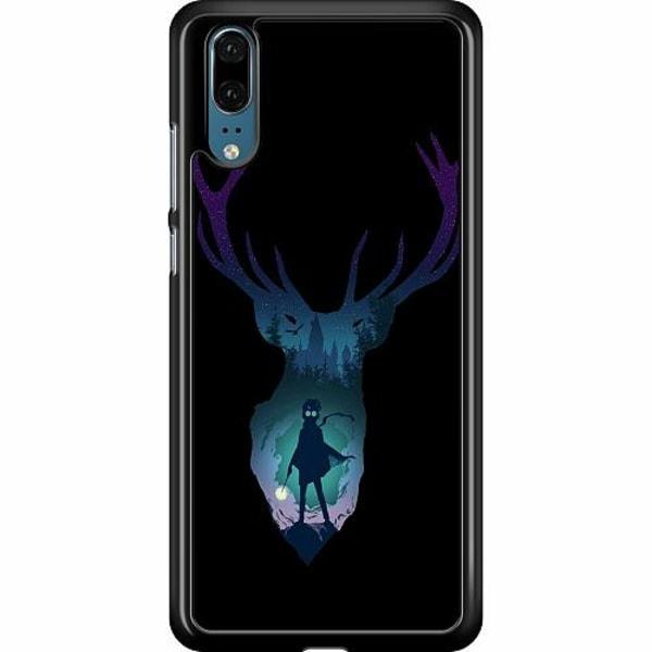 Huawei P20 Hard Case (Black) Harry Potter
