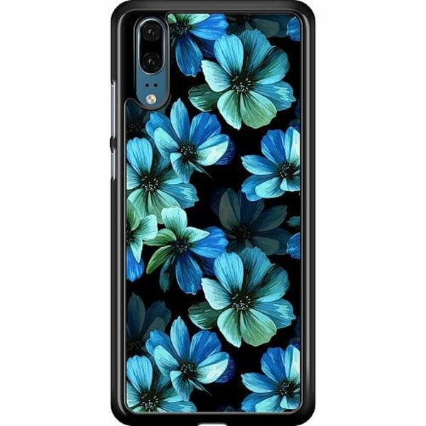 Huawei P20 Hard Case (Black) Midnight Garden