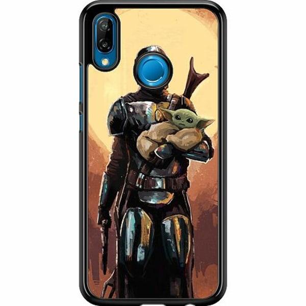 Huawei P20 Lite Hard Case (Svart) Baby Yoda