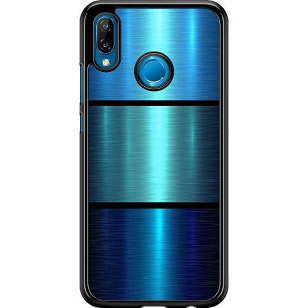 Huawei P20 Lite Hard Case (Svart) Blå