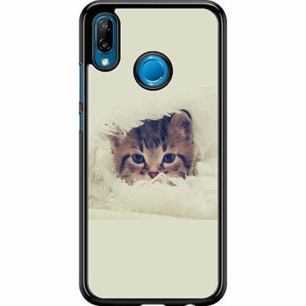 Huawei P20 Lite Hard Case (Svart) Grumpy Cat