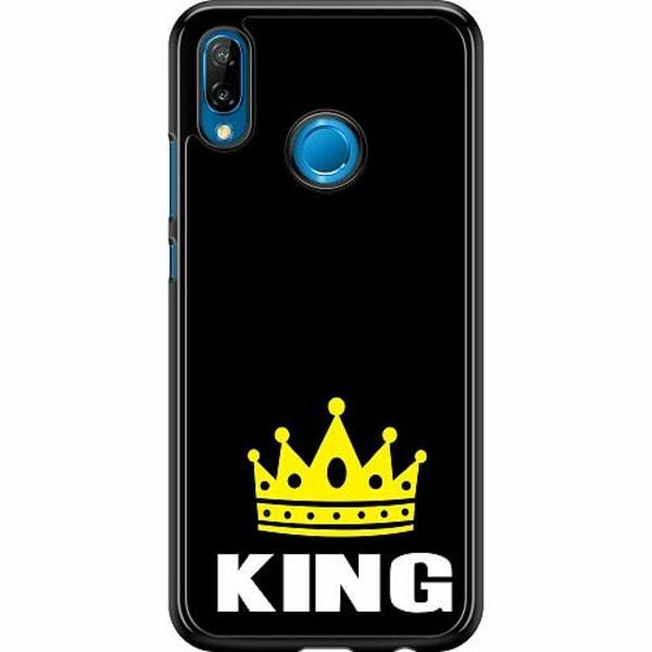 Huawei P20 Lite Hard Case (Svart) King 01