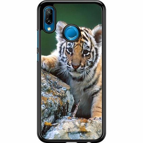 Huawei P20 Lite Hard Case (Svart) Tiger