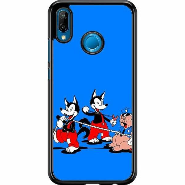 Huawei P20 Lite Hard Case (Svart) Wolves