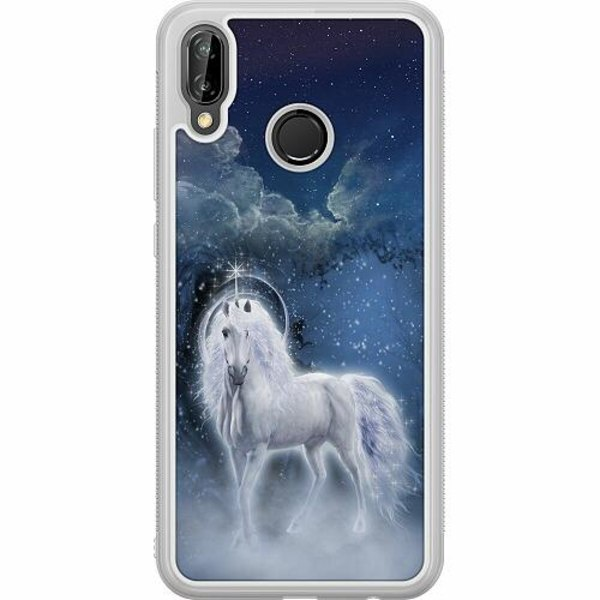 Huawei P20 Lite Soft Case (Frostad) Magical Horse