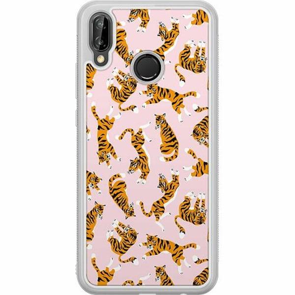 Huawei P20 Lite Soft Case (Frostad) Tiger