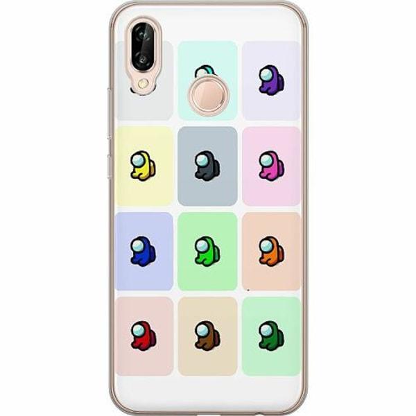 Huawei P20 Lite TPU Mobilskal Among Us