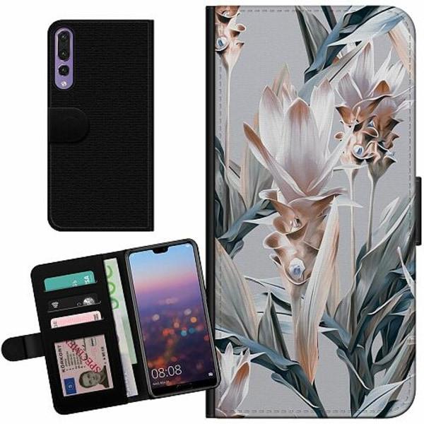 Huawei P20 Pro Billigt Fodral Bloom